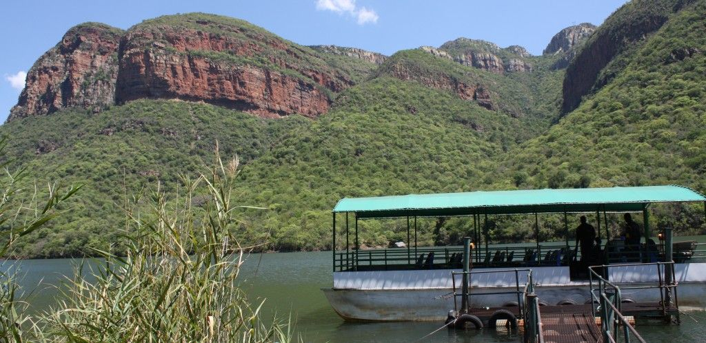 Blyde river Canyon boat ride